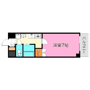 ジオ・グランデ・高井田 東大阪市川俣1丁目 マンション 1K|賃貸 居住用|ルームズ