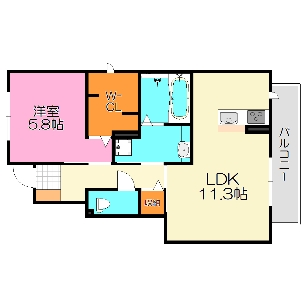 D-room東鴻池町1丁目